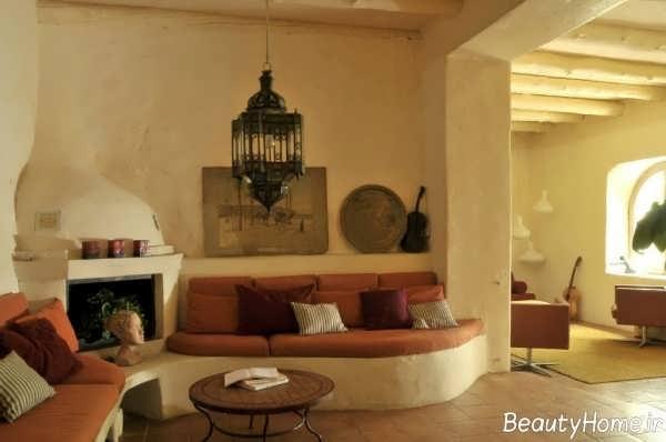 دکوراسیون داخلی منزل با سبک روستیک