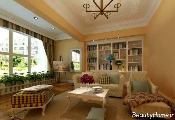 زیباترین و جدیدترین نمونه های طراحی داخلی منزل با سبک روستیک