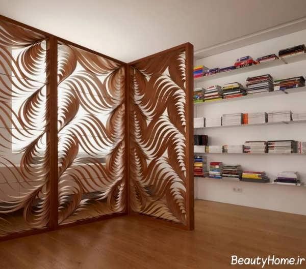 پارتیشن بندی زیبا چوبی