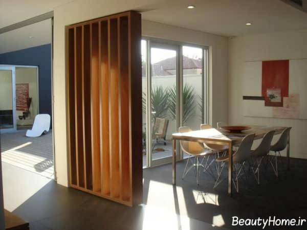 پارتیشن های چوبی با طراحی های مدرن