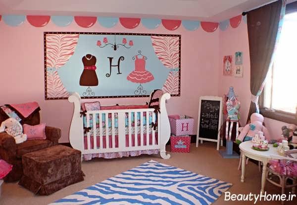 زیباترین و جدیدترین طراحی های دکوراسیون اتاق نوزاد