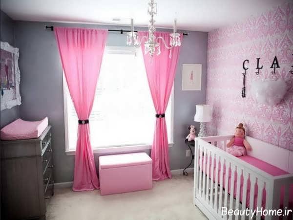 دکوراسیون اتاق نوزاد با طراحی های مدرن و شیک