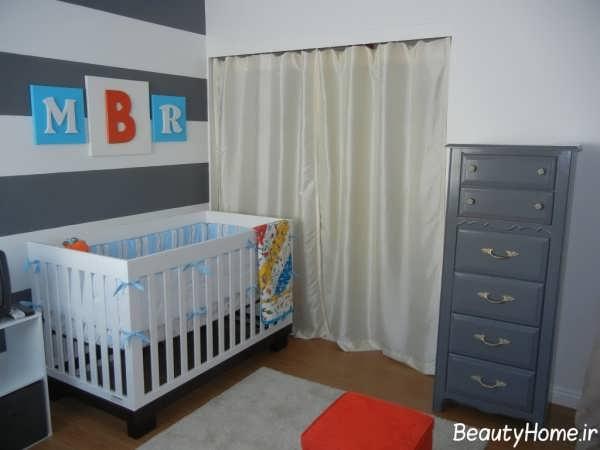 طراحی دکوراسیون داخلی اتاق نوزاد دختر