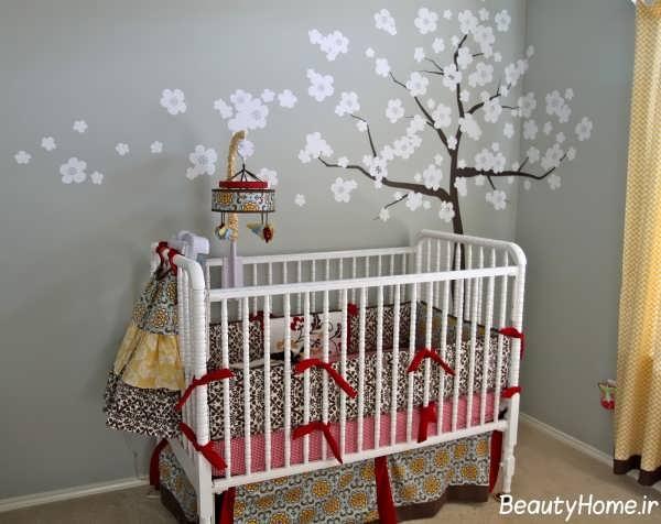 دکوراسیون اتاق نوزاد شیک و مدرن