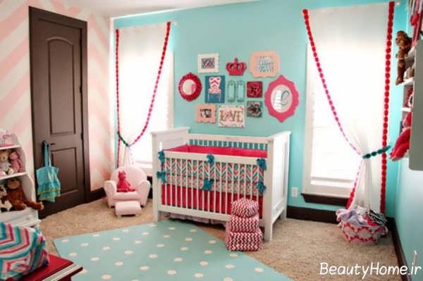 دکوراسیون داخلی اتاق نوزاد با طراحی های شیک