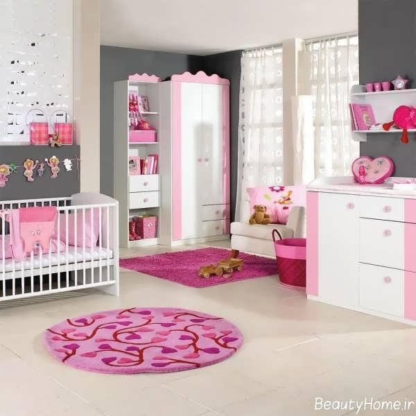 طراحی فانتزی دکوراسیون اتاق نوزاد
