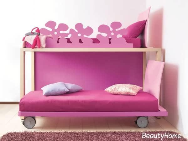 مدل تخت خواب فانتزی دخترانه