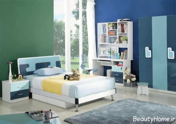 تخت خواب دخترانه با طراحی بی نظیر