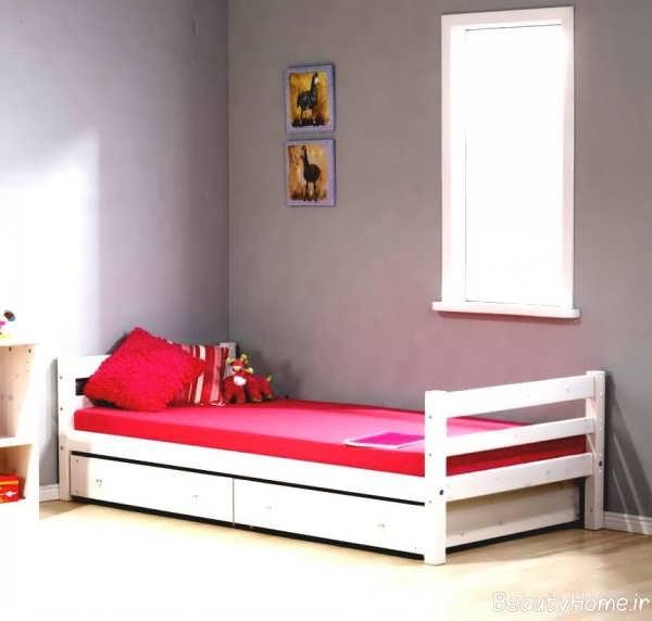 مدل های تخت خواب دخترانه