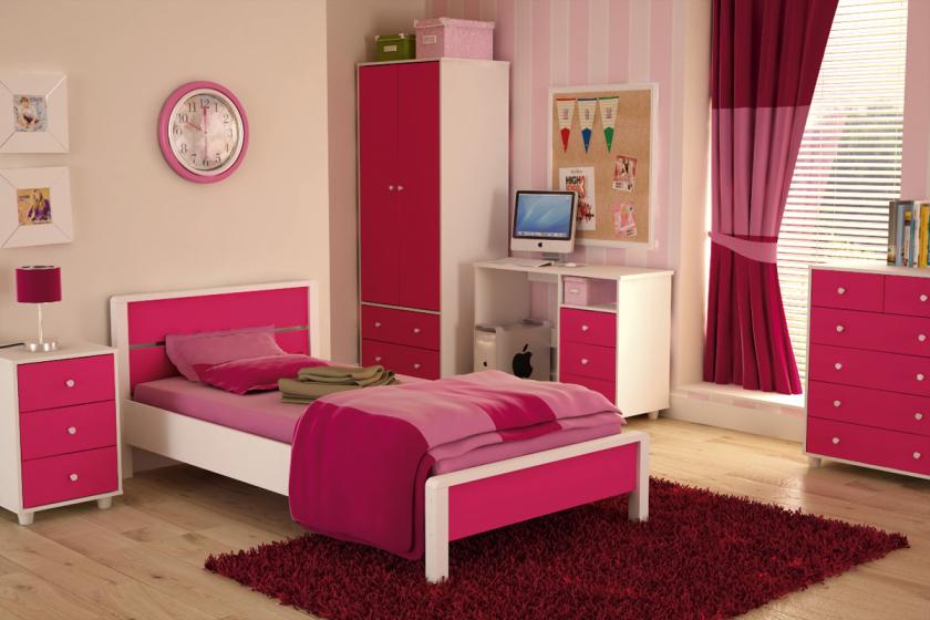 مدل تخت خواب دخترانه با طرح های زیبا و شیک