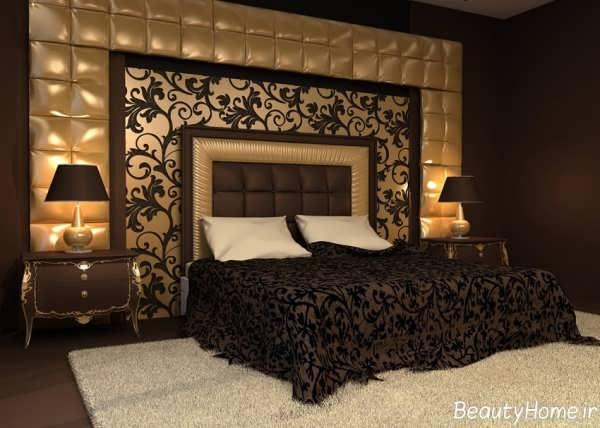 دکوراسیون زیبا و مدرن برای اتاق خواب های تیره