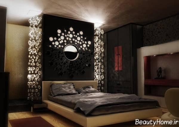 طراحی دکوراسیون داخلی برای اتاق خواب های تیره