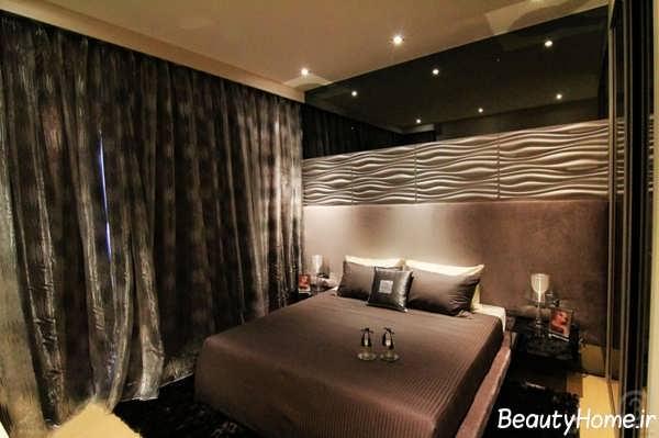 طراحی دکوراسیون برای اتاق خواب های تیره