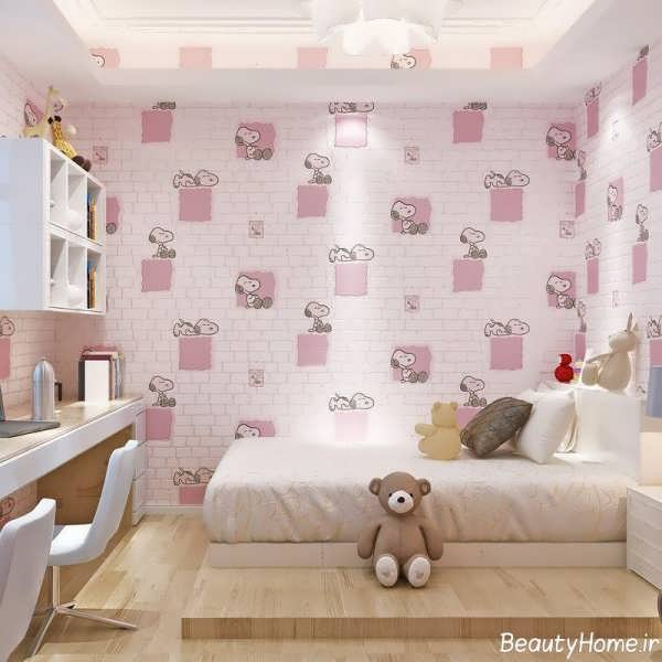 مدل های کاغذ دیواری اتاق خواب