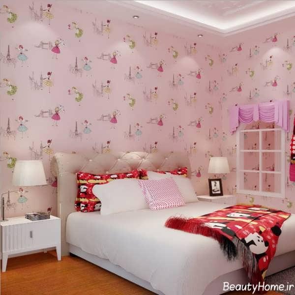 طرح های متنوع و زیبا کاغذ دیواری