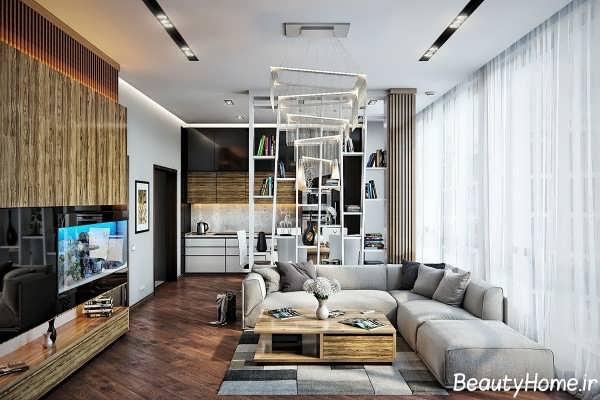طراحی دکوراسیون داخلی برای اتاق پذیرایی