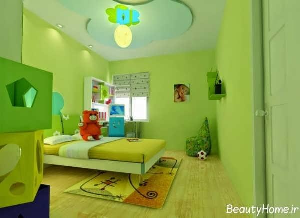 طرح های فانتزی و زیبا کناف اتاق کودک
