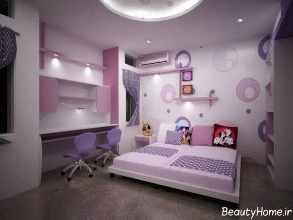 کناف اتاق خواب با طراحی های زیبا و کاربردی