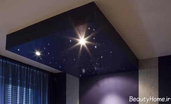 زیباترین طرح های کناف اتاق خواب کودک