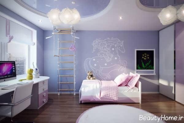طراحی کناف اتاق کودک