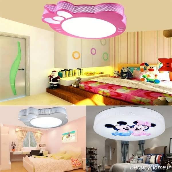 کناف اتاق خواب کودک با طرح های فانتزی