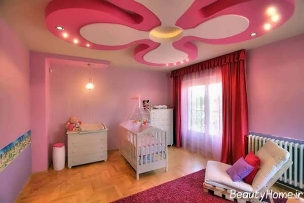 کناف اتاق خواب کودک با طرح های فانتزی و زیبا