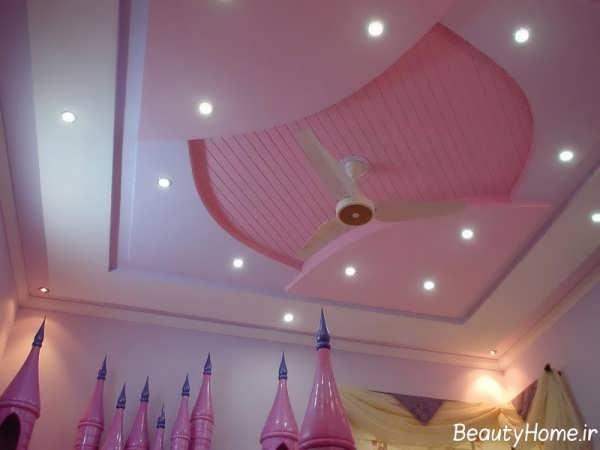 نورپردازی مدرن برای کناف اتاق کودک