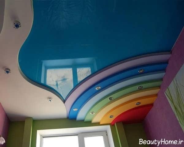 کناف سقف برای اتاق کودک