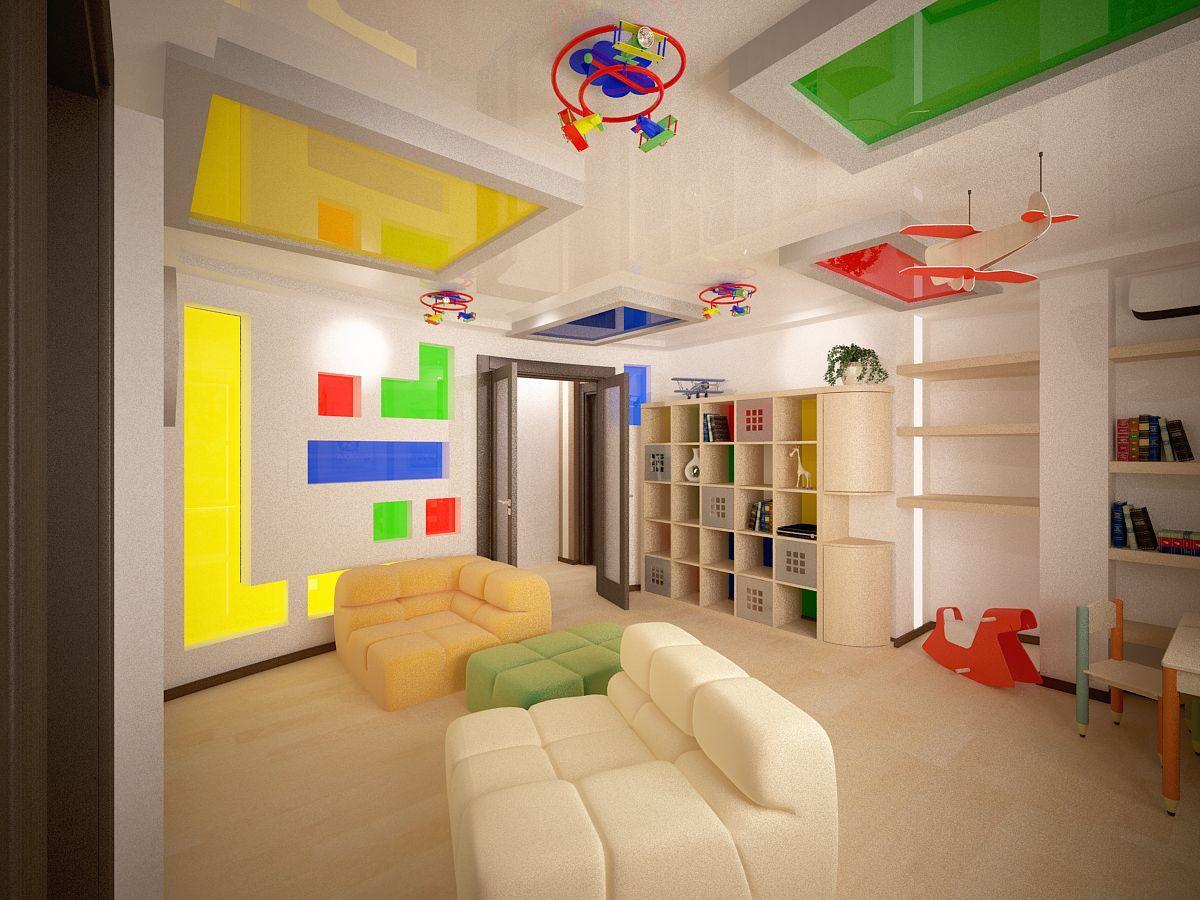 کناف اتاق کودک با طراحی های کاربردی