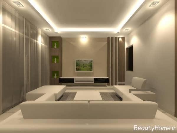 زیباترین دیزاین برای اتاق نشیمن
