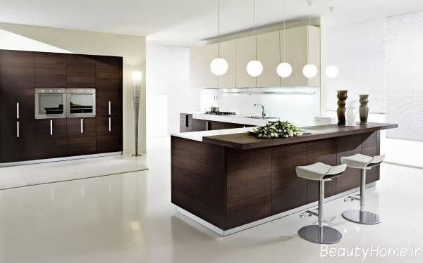 طراحی داخلی آشپزخانه های مدرن