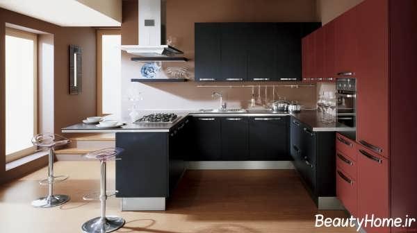 دکوراسیون داخلی آشپزخانه مدرن و امروزی