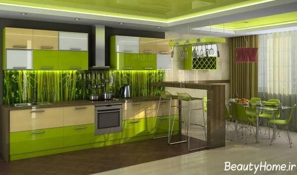 طراحی و دیزاین دکوراسیون آشپزخانه های مدرن