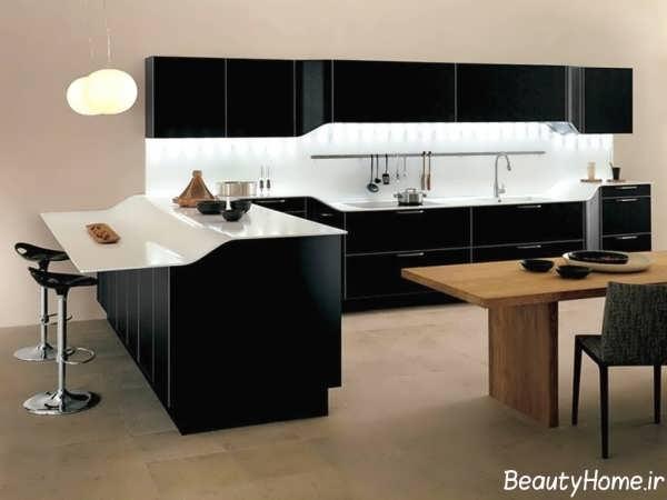 طراحی دکوراسیون لوکس برای آشپزخانه