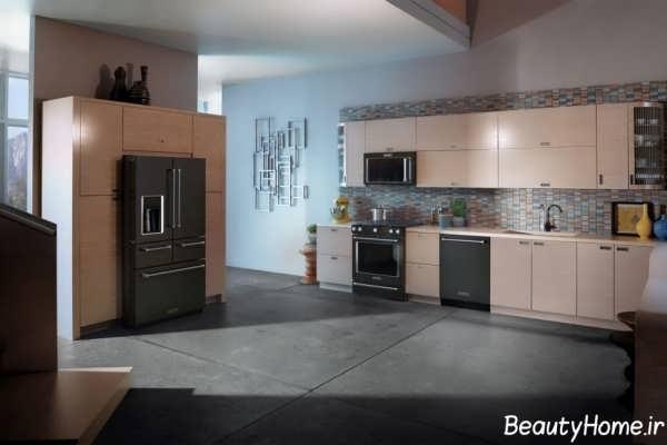 طراحی ها و ایده های نو برای دکوراسیون آشپزخانه مدرن