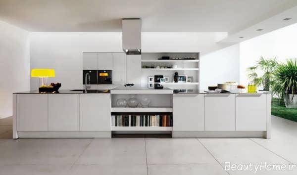 دکوراسیون مدرن برای آشپزخانه های بدون اپن و زیبا