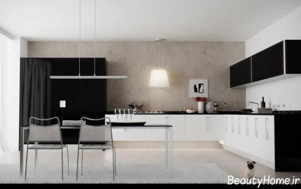 دکوراسیون آشپزخانه بدون اپن با طراحی های زیبا