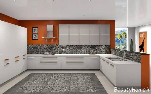 دکوراسیون داخلی آشپزخانه های بدون اپن لوکس