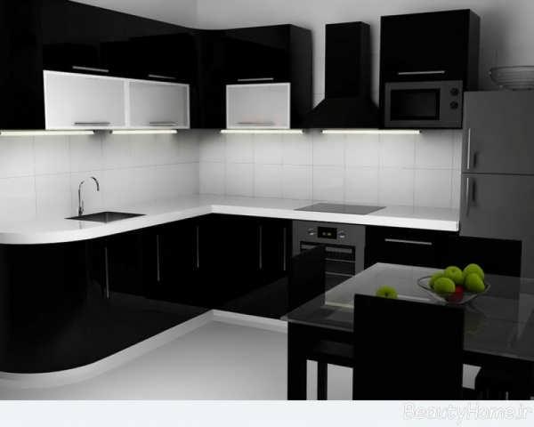طراحی آشپزخانه های بدون اپن
