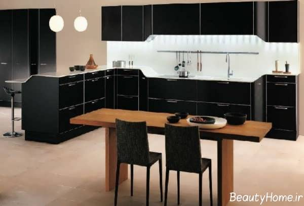 دیزاین دکوراسیون برای آشپزخانه های بدون اپن