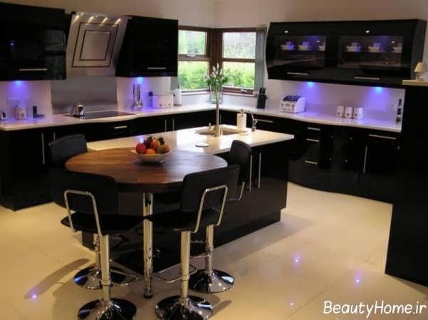 دکوراسیون های زیبا برای آشپزخانه های بدون اپن