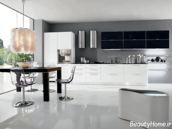 طراحی های مدرن و زیبا برای آشپزخانه های بدون اپن