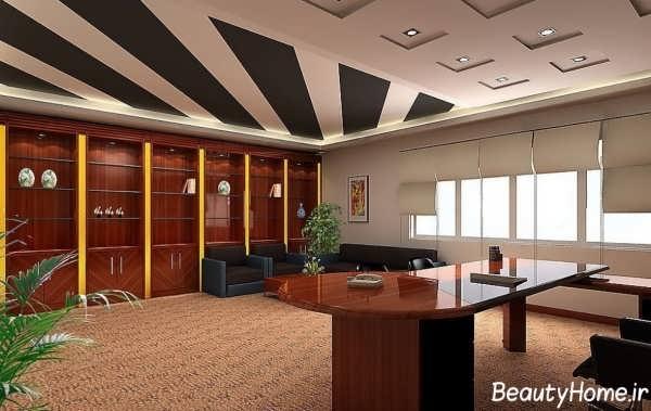 دیزاین دکوراسیون داخلی برای اداره ها و شرکت های بزرگ