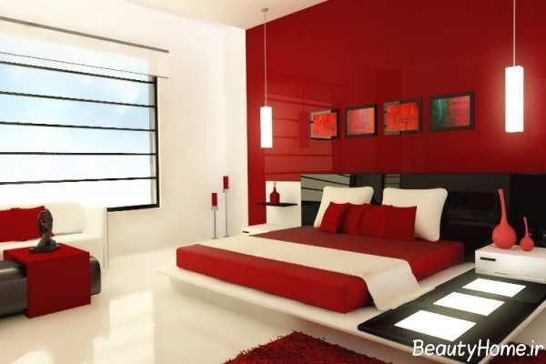 دکوراسیون زیبا و متفاوت برای اتاق خواب