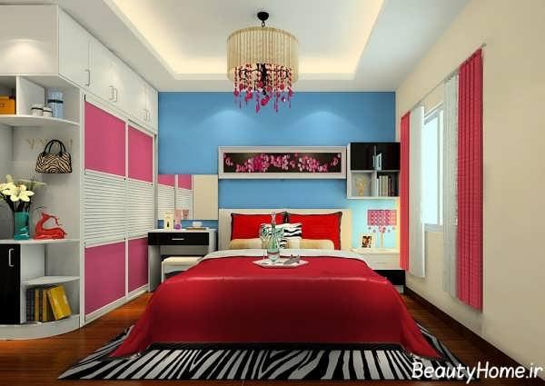 دکوراسیون قرمز برای اتاق خواب