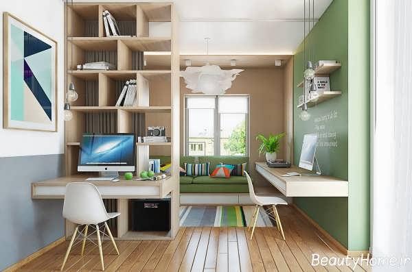 دکوراسیون های زیبا و بی نظیر برای خانه های کوچک