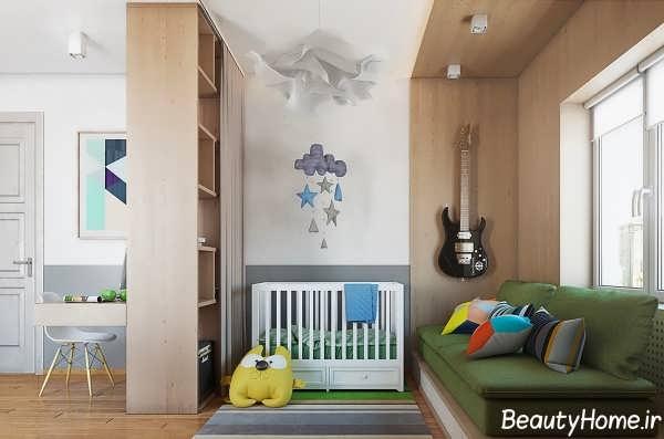 طراحی اتاق کودک در آپارتمان کوچک
