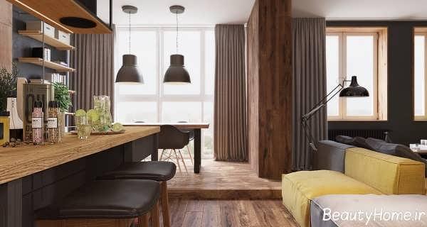 دکوراسیون های داخلی بی نظیر در درون آپارتمان های کوچک