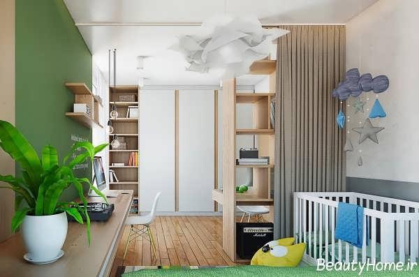 زیباترین طراحی دکوراسیون های داخلی برای آپارتمان های کوچک