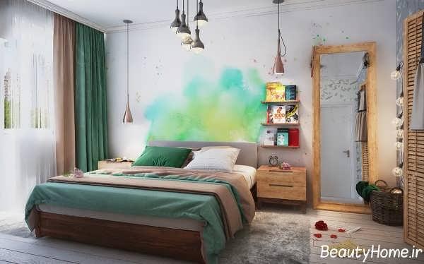 طراحی اتاق خواب برای آپارتمان کوچک